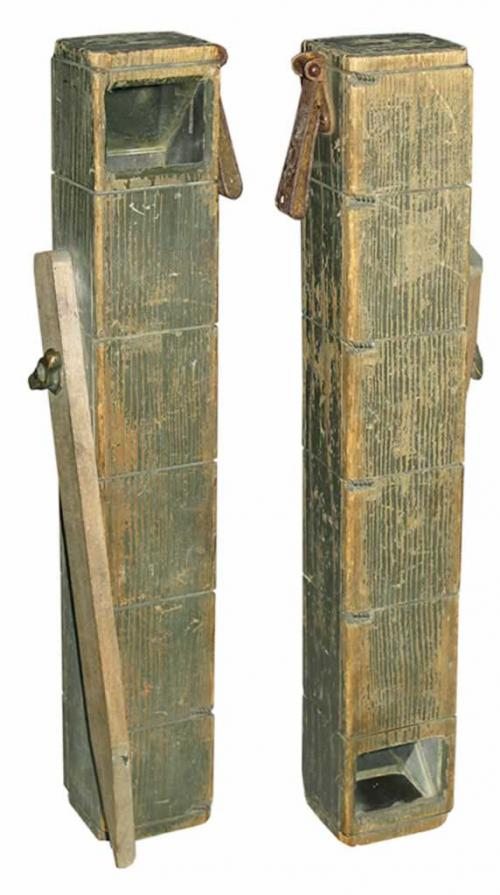A wooden trench periscope